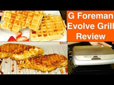 George Foreman 5-Serving Evolve Grill System REVIEW