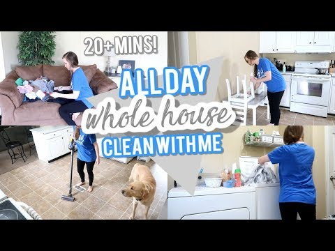 all-day-whole-house-clean-with-me-|-weekly-cleaning-routine