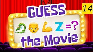 Can You Guess All The Movies? | Emoji Challenge 14 😃