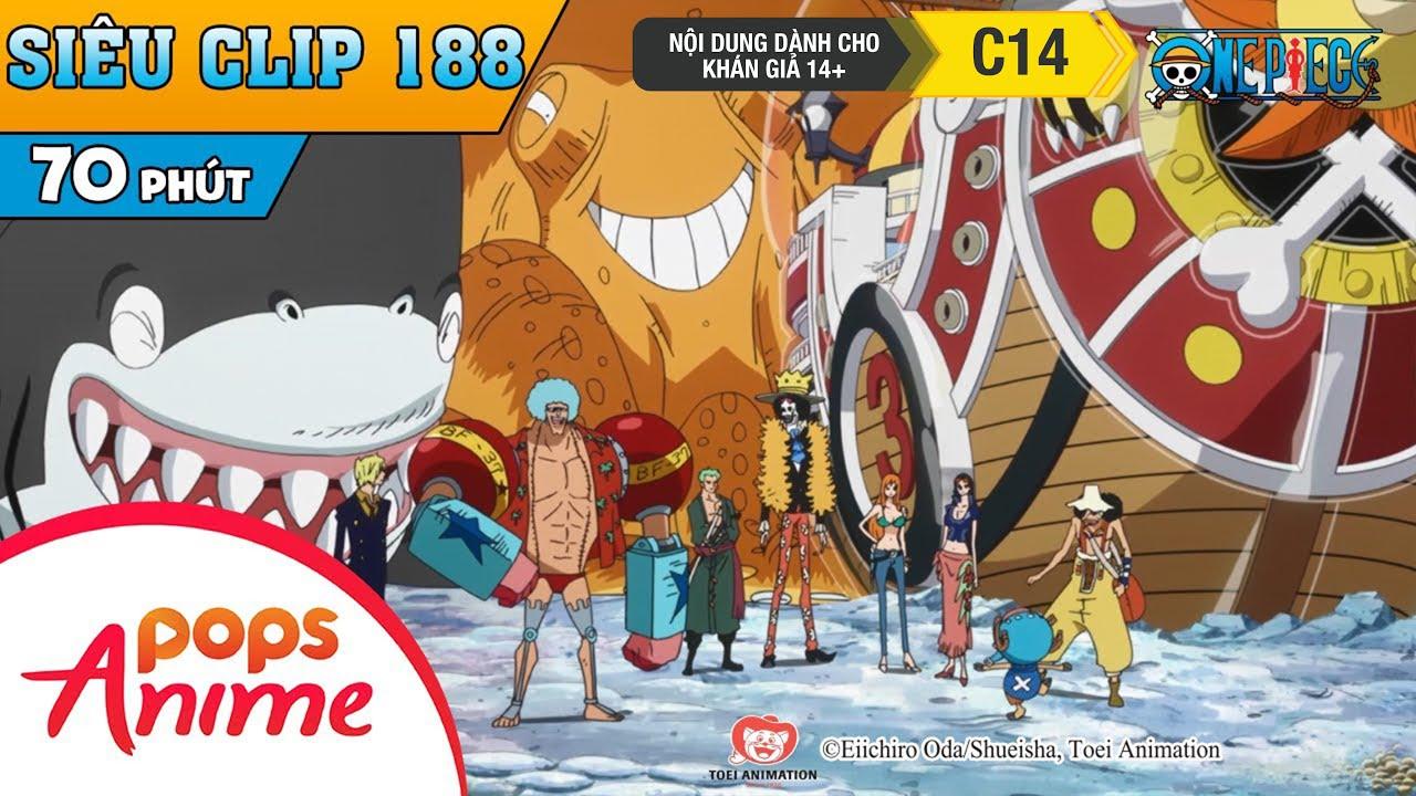 One Piece Siêu Clip Phần 188 - Những Cuộc Phiêu Lưu Của Luffy Và Băng Mũ Rơm - Hoạt Hình Đảo Hải Tặc