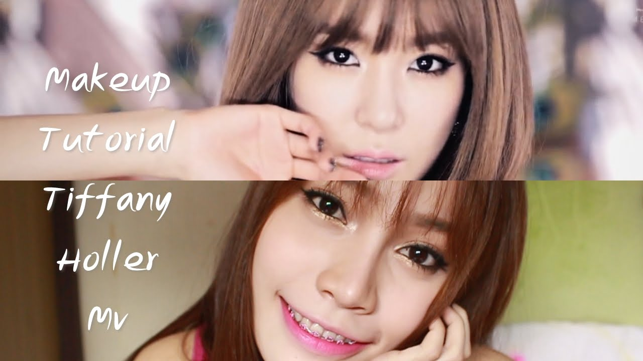 tiffany girlsgeneration quothollerquot mv makeup look