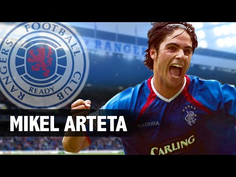 Scottish Football Legends - Mikel Arteta