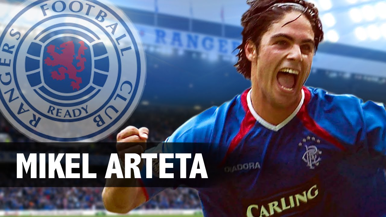 | Mikel Football Rangers Arteta |  Moments Scottish Best