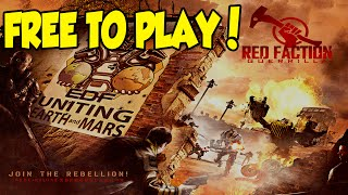 FREE TO PLAY - Red Faction Guerrilla (XBOX 360)