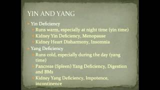 yin deficiency heat symptoms in chinese medicine