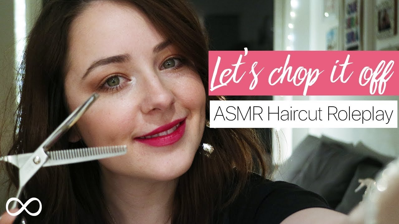 Asmr Haircut Roleplay Whispered Youtube