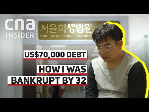 Why South Koreans In Their 20s and 30s Are Going Bankrupt From Debt