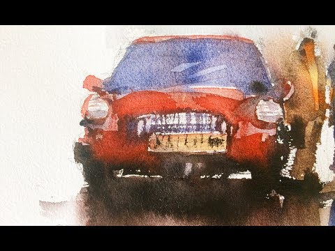 PAINT YOUR DREAM CAR IN WATERCOLOR - LIVE