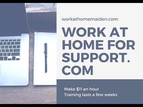 One Job Minute: Work at Home with Support.com as a Tech