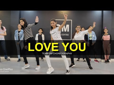 Love you  Dance Cover  G M Dance Choreography  Abhinikks  Malwa Records