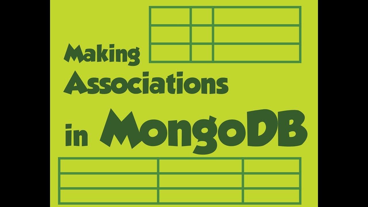 Creating relationships between Schemas in MongoDB  - hello JS