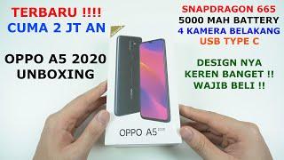 OPPO A5 2020 UNBOXING | PAKAI SNAPDRAGON TERBARU CUMA 2 JUTAAN !!