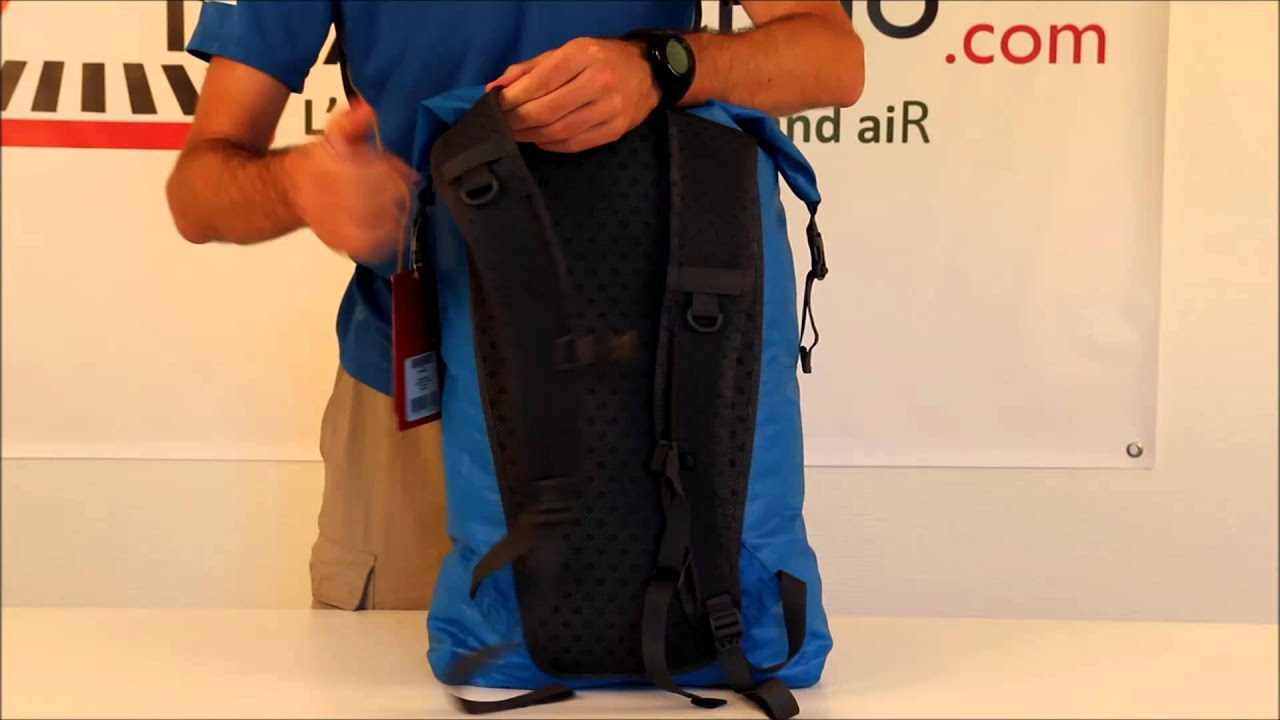 RayonRando com : Test du sac à dos The North Face Waterproof Daypack