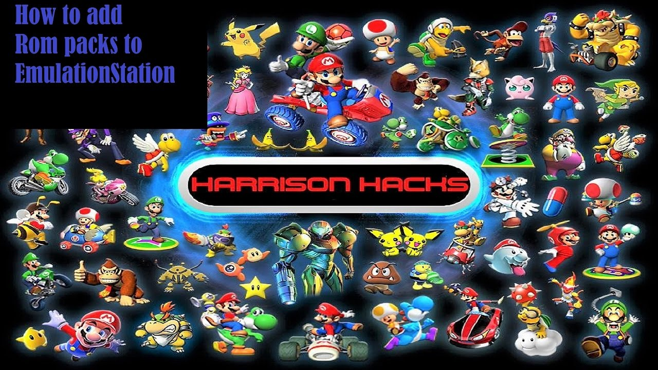 How To Add Rom Packs & Artwork To EmulationStation