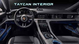 Porsche Taycan Interior Revealed |  F-22 Raptor pilot jealous?