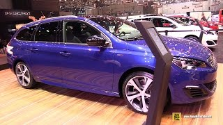 Video 2016 Peugeot 308 SW GT - Exterior and Interior Walkaround - 2016 Geneva Motor Show download MP3, 3GP, MP4, WEBM, AVI, FLV Juli 2018