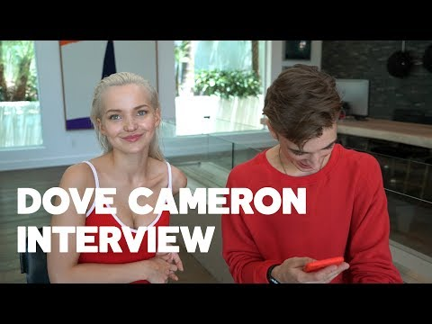 "Dove Cameron Talks New Single ""Talks About"", Boyfriend Thomas Doherty & Descendants 2 with RAW"