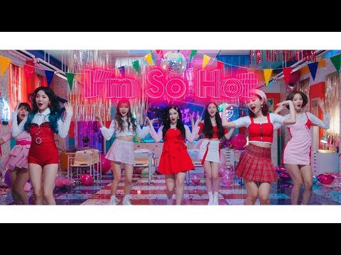 Youtube: I'm So Hot (Japanese Ver.) / MOMOLAND