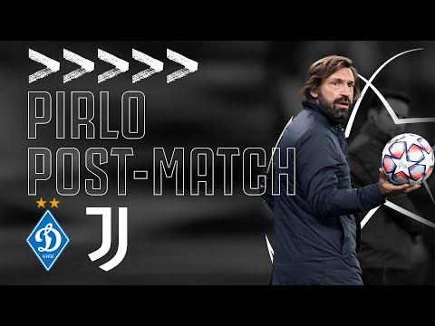 🎙 PIRLO POST-MATCH | Dynamo Kyiv 0-2 Juventus | #DynamoJuve