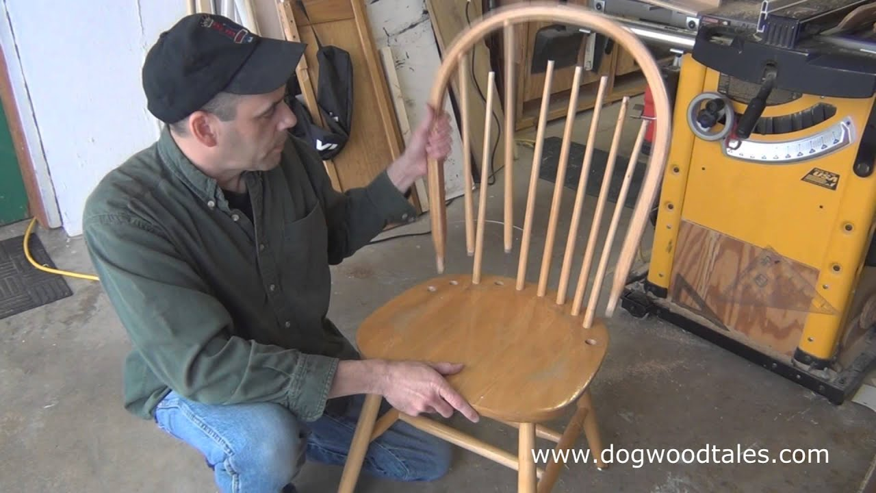 Restaurant Chair Repair Hanging Swing Chairs Outdoor How To A Dining Room Comedy Youtube