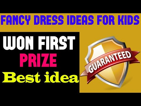 Fancy Dress Competition Ideas For Kids | 2019 First Prize Winning | Boys Girls