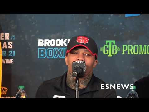 """Gervonta Tank Davis:""""This Fight Is NOT Going The Distance"""" - EsNews Boxing"""