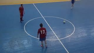 Sergio Team НИИПХ 2 1 й тайм Чемпионат мини футбол 2020 21