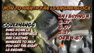 LS Engine Casting (3 Casting location you should know before you Buy!!!)