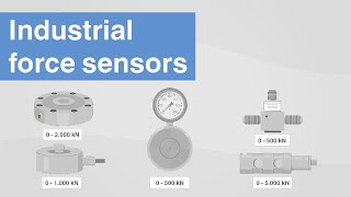 Industrial force sensors | Which sensor technologies are there for force...