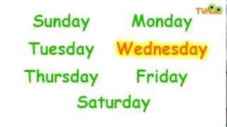Песня Дни недели - Days Of The Week Song