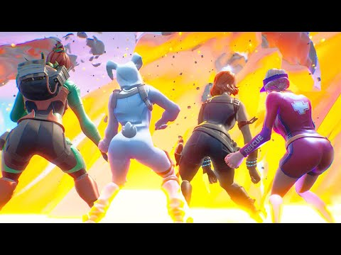 Thiccest Squad In Fortnite History!!