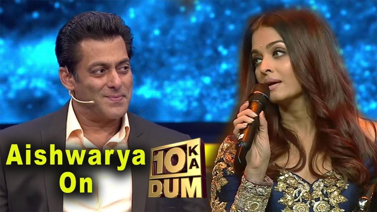 Aishwarya Rai On Set Of Dus Ka Dum With Salman Khan For -6373