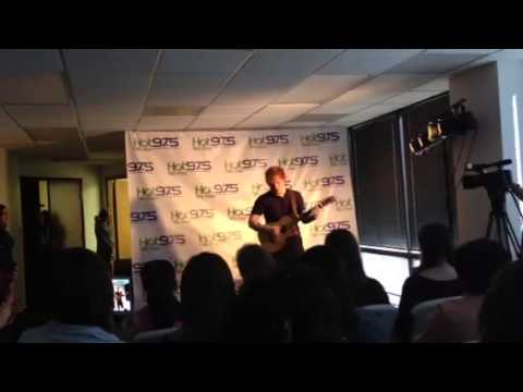 Ed Sheeran | Lego House HOT 97.5 Phoenix, AZ 2/13/13