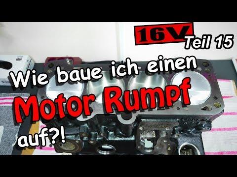 Golf 2 ABF 2L 16V Umbau Projekt Teil 15 | Wie baue ich einen Motor Rumpf auf?!