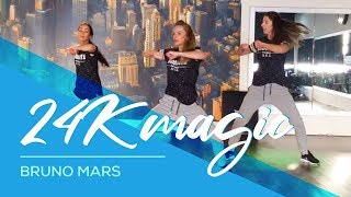 24K Magic - Bruno Mars - Davy Johnes remix - Easy Combat Fitness Dance Choreography