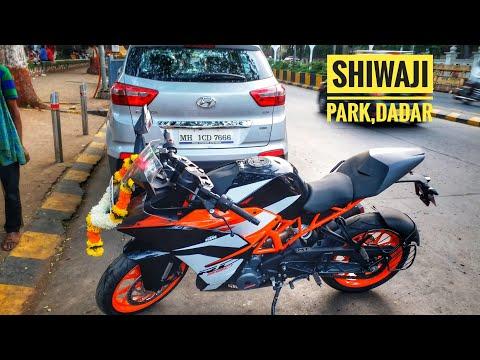 KTM RC 390 Pooja at Shiwaji Park | Dadar