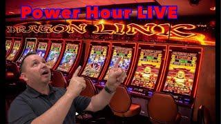 🚨LIVE Slots! Dragon Link Power Hour!