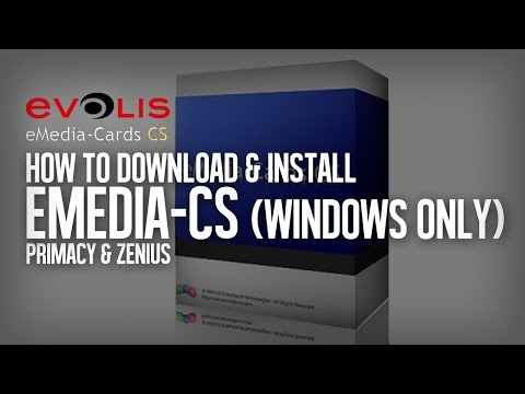 How To Download Install Emedia Cs Card Designer And Do A Basic Card Design Youtube