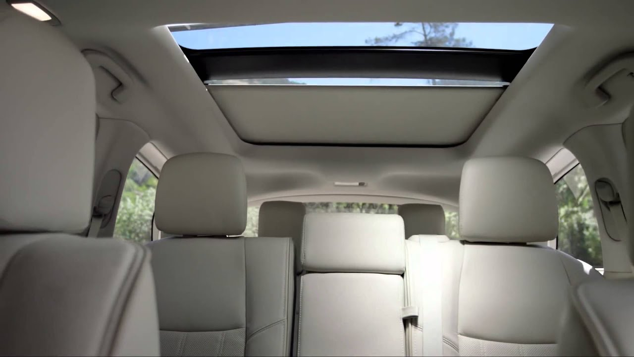 Infiniti Qx60 Panoramic Sunroof A Glimpse Youtube