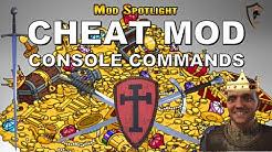 Kingdom Come: Deliverance - CHEAT MOD - Open Quick Console Commands (Mod Spotlight)
