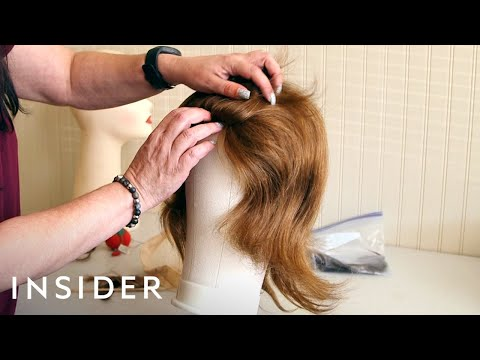 How Wigs Are Made From Donated Hair   The Making Of