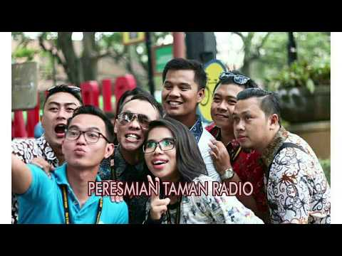 PENYIAR RADIO DAHLIA FM - PERESMIAN TAMAN RADIO