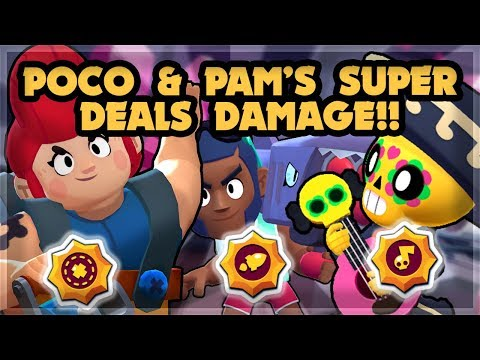 Healing Damaging Star Powers For Poco Pam And Brock! 🍊