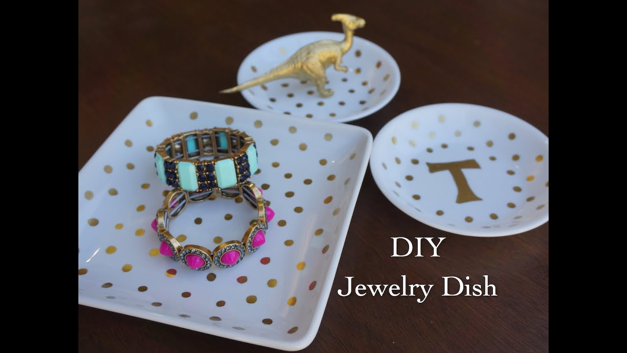 DIY Jewelry DishYouTube