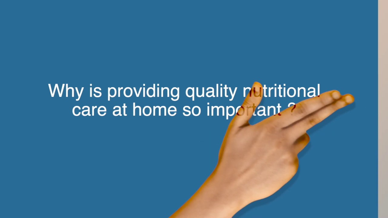 Why is providing quality nutritional care at home so important? Interview to Frank de Man