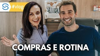 ROTINA DO DIA COM COMPRAS, LAVANDERIA E MOTORHOME | Travel and Share