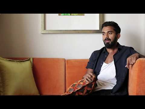 Up and personal with Indian cricketer KL Rahul