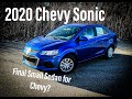 2020 Chevrolet Sonic - Could this be the final small Sedan? (Review)