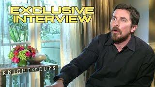 Christian Bale Interview - KNIGHT OF CUPS (2016) JoBlo.com Exclusive HD