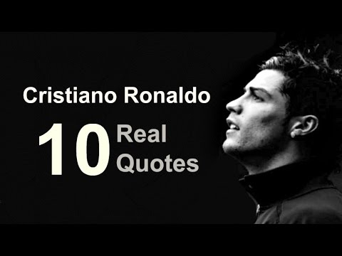 Real Life Quotes Custom Cristiano Ronaldo 48 Real Life Quotes On Success Inspiring